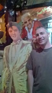 Me, Elvis and the guy from Diners, Drive-ins and Dives....